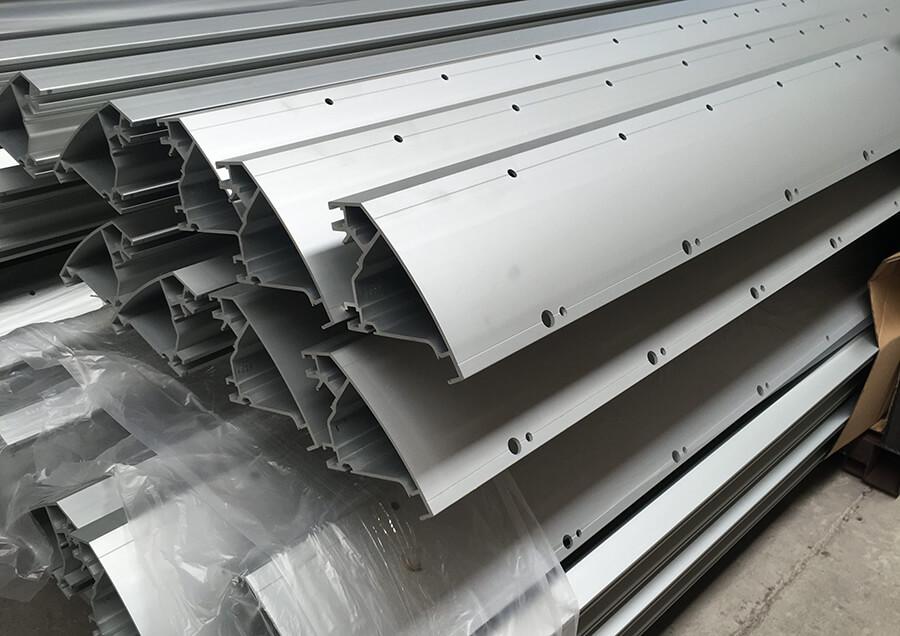 stacked aluminium
