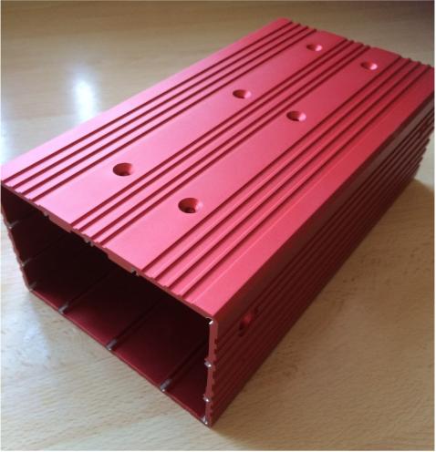 aluminium extrusion, aluminium casing,